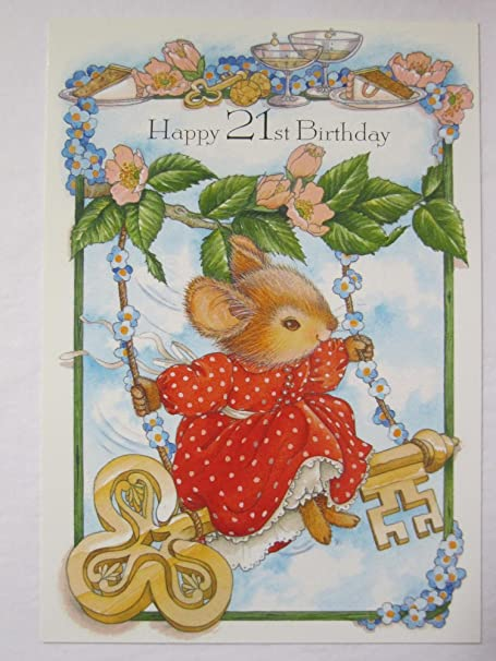 Hallmark mouse tales key to the door happy 21st birthday greeting hallmark mouse tales key to the door happy 21st birthday greeting card m4hsunfo