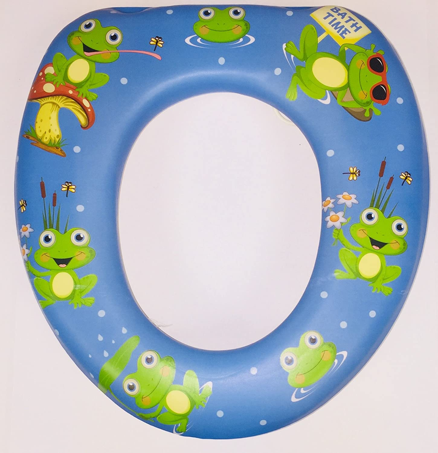 Kids children Soft Padded Potty Toilet Training Seat Baby Toddler Training-Ducks