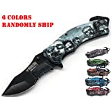 UNISHOW® Walking Dead Zombie Knife with Artwork - Assort Colors, Color Randomly