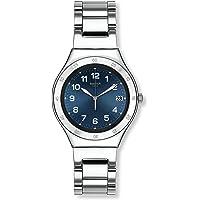 Swatch Orologio da Donna Digitale al Quarzo con Cinturino in Acciaio Inox – YGS474G