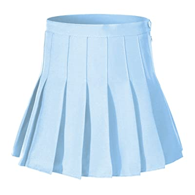 Beautifulfashionlife Girl`s Short Pleated School Dresses for Teen Girls Tennis Scooters Skirts