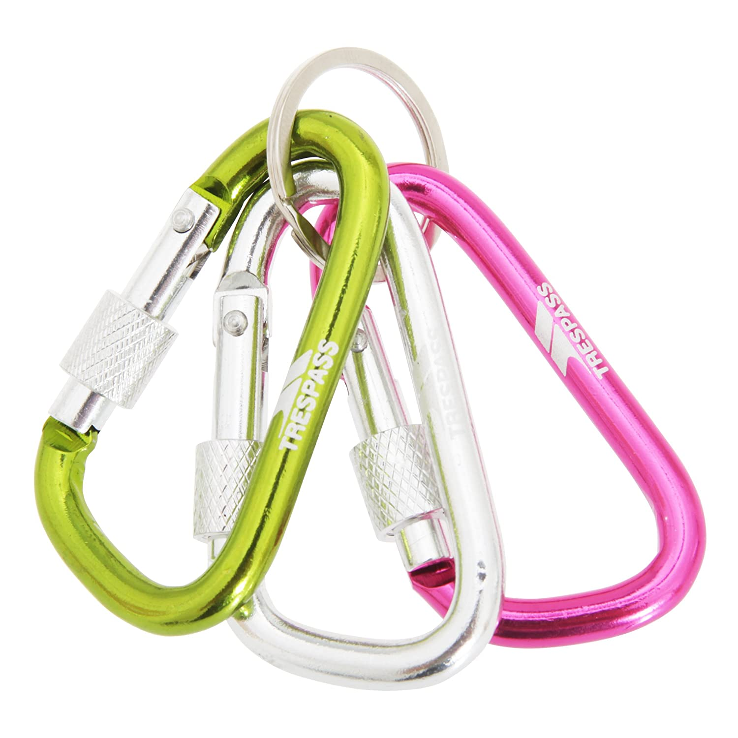 Trespass Lock X Carabiner Keyring Set