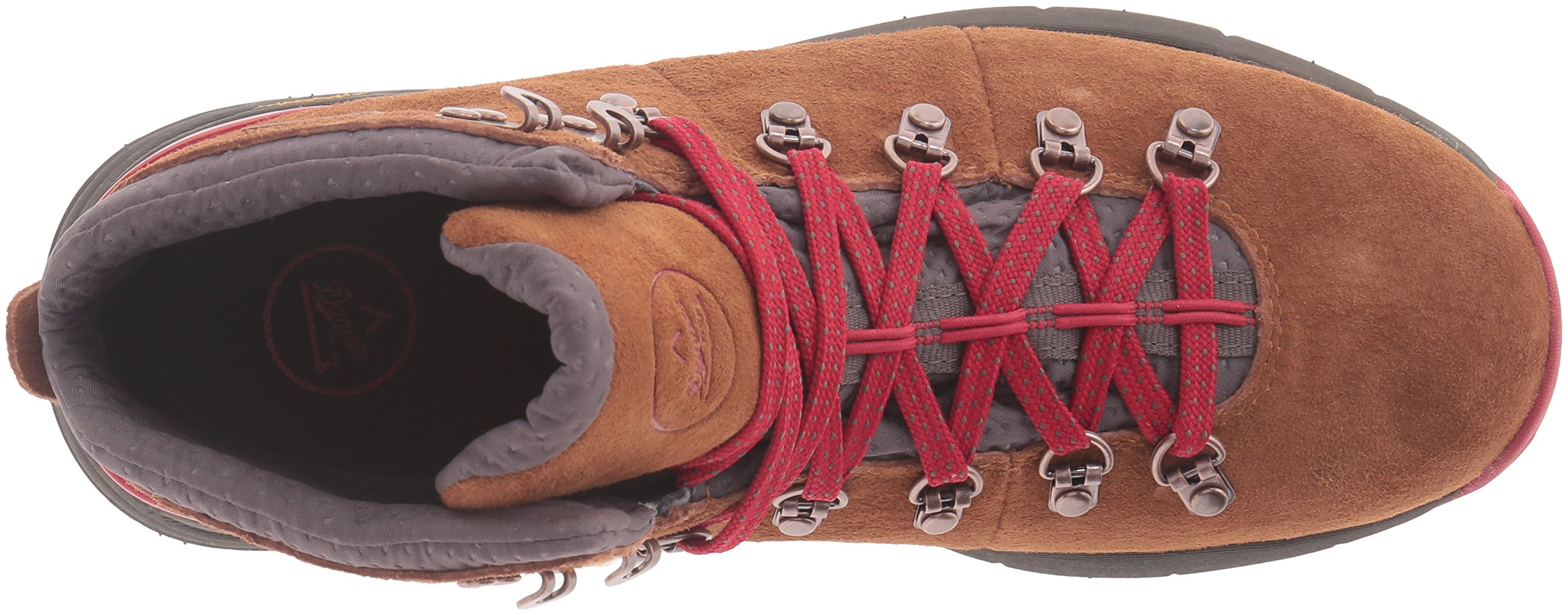 Danner Women's Mountain 600 4.5'' Hiking Boot, Brown/Red, 8.5 M US by Danner (Image #8)