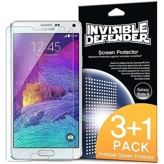 26 opinioni per Galaxy Note 4 Pellicola Protettiva- Invisible Defender [3+1