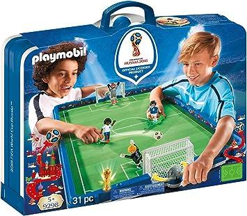 Playmobil-2018 FIFA World Cup Russia Campo de Fútbol Maletín ...