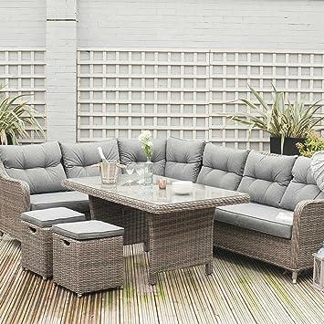 Big Living GARDEN - Juego de mesa para jardín, diseño de pátigo ...