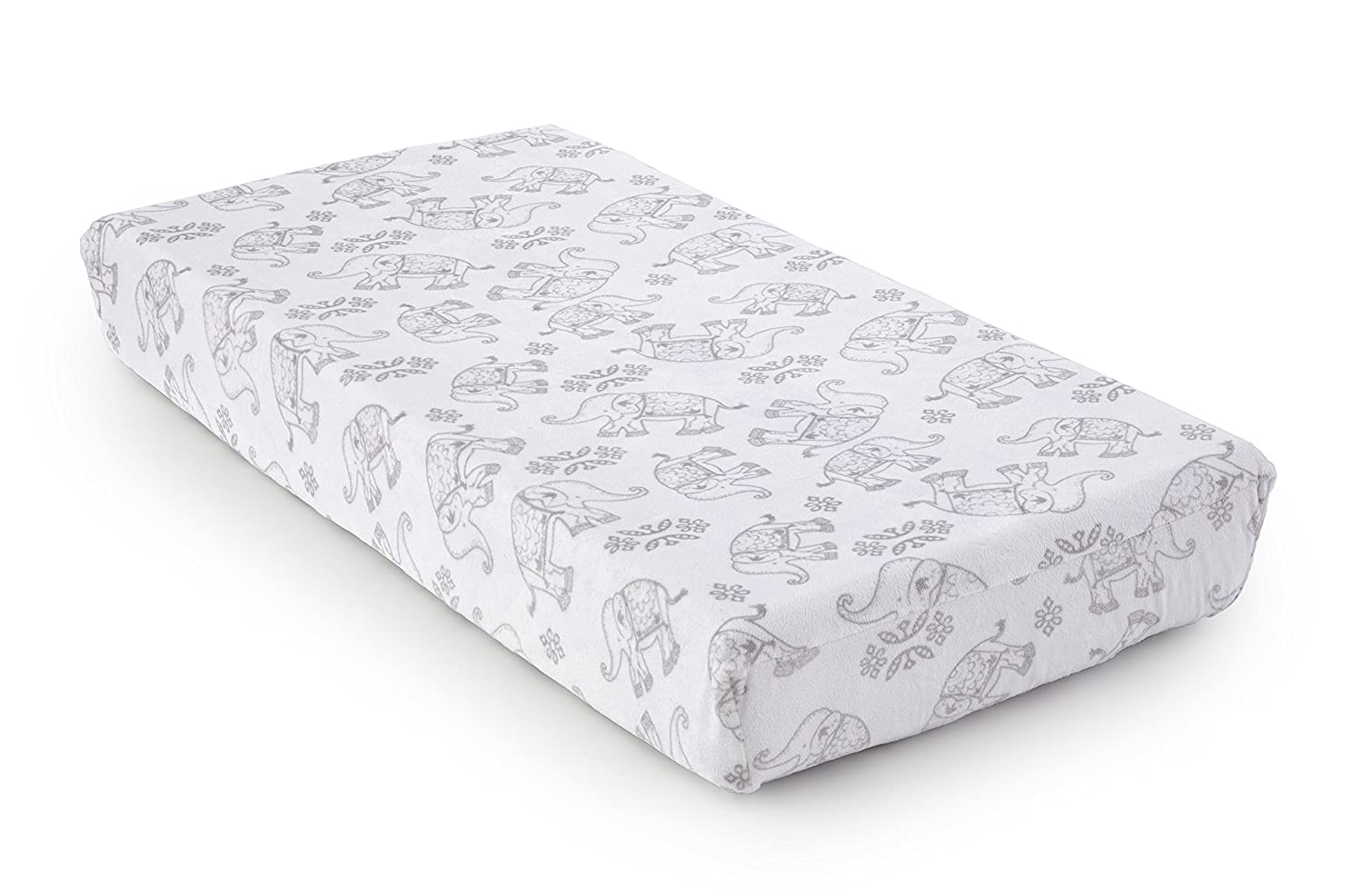 Levtex Home Baby Ely Changing Pad Cover, Grey