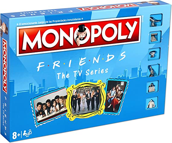 ELEVEN FORCE Monopoly Friends, multicolor, Talla Única (12135): Amazon.es: Juguetes y juegos