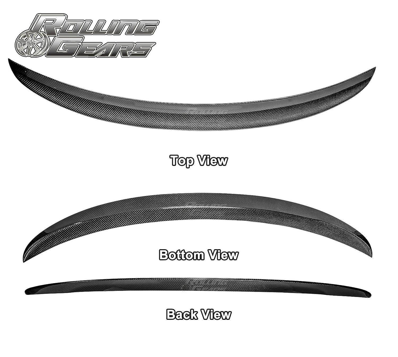 Rolling Gears E90 Carbon Fiber Trunk Spoiler Performance Style