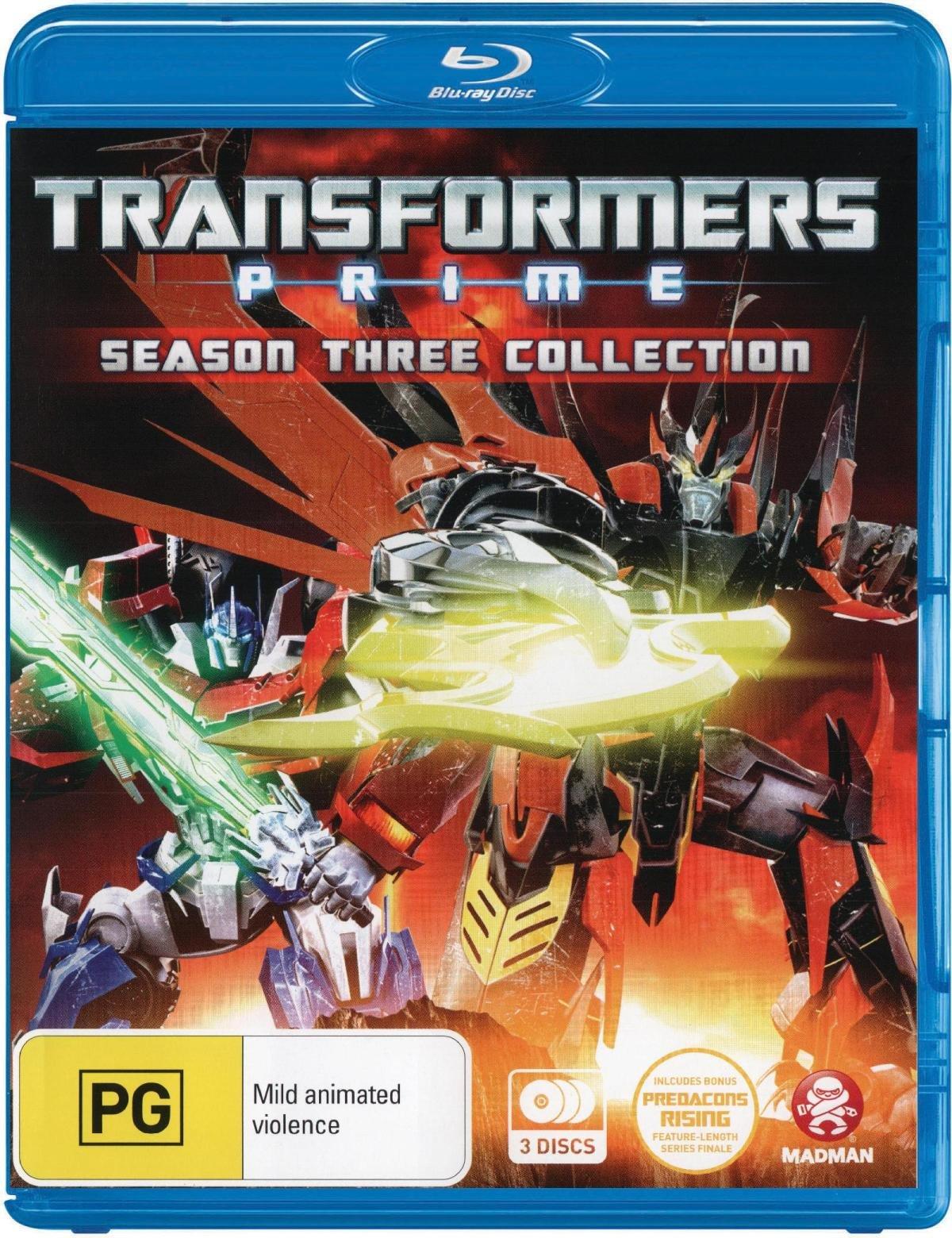 Transformers: Prime Season 3 [Blu-ray]