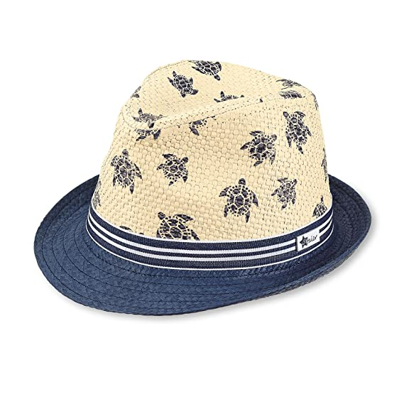 d9219f31 Sterntaler Boys Turtle-Ribbon Straw Hat, Age: 9-12 Months, Size: 47 cm,  Sandy Beige/Navy Blue: Amazon.co.uk: Clothing