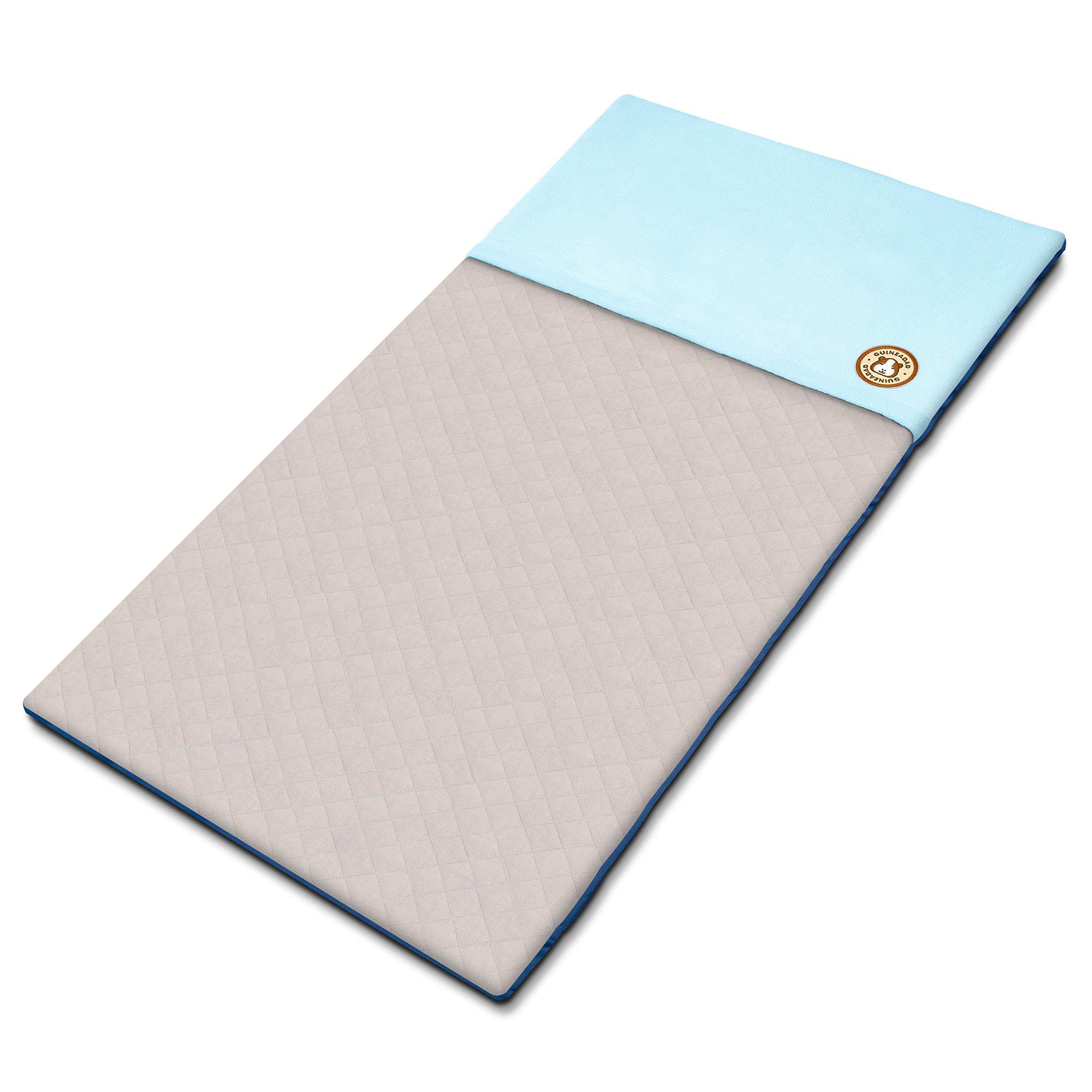 GuineaDad Fleece Liner 2.0 | Guinea Pig Fleece Cage Liners Bedding | Burrowing Pocket Sleeve | Extra Absorbent Antibacterial Bamboo | Waterproof | Available Various Cage Sizes by GuineaDad