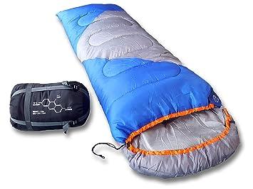Montañeros al aire libre saco de dormir, transpirable 350 g relleno & resistente al agua exterior, ...