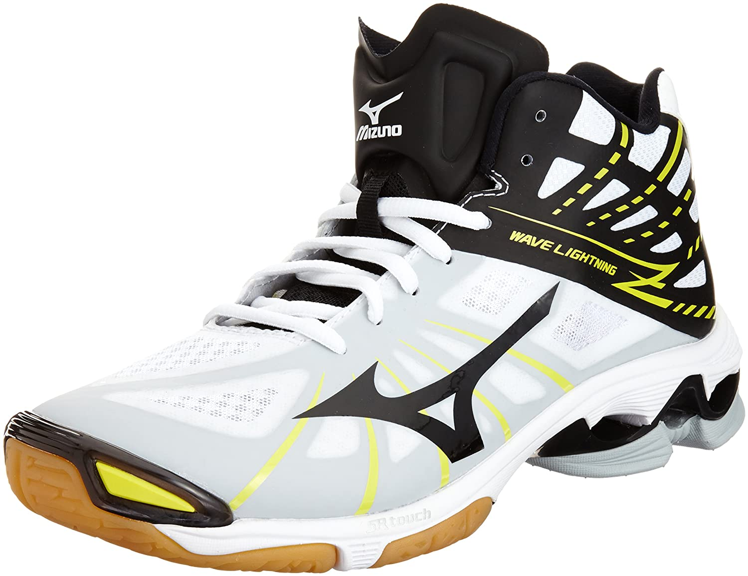 Amazon.com | Mizuno Volleyball Shoes Wave Lightning Z Mid | Volleyball