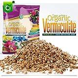 10 Liters Organic Vermiculite Coarse Grow Media Soil Conditioner - Orchids • Hydroponics • Terrariums • (Cz Garden 10 Quarts