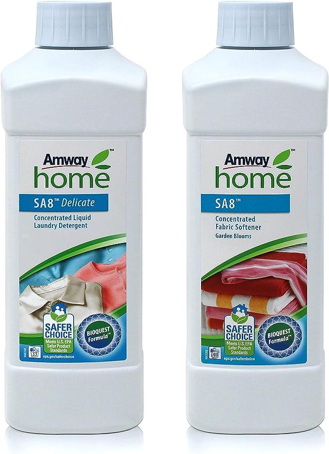 Pack Detergente Líquido Concentrado SA8 Delicate y Suavizante de ...