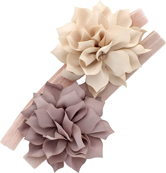 BABY GIRL //CHILD  BABY TAUPE PRINCESSS CROWN HEADBAND ALL SIZE