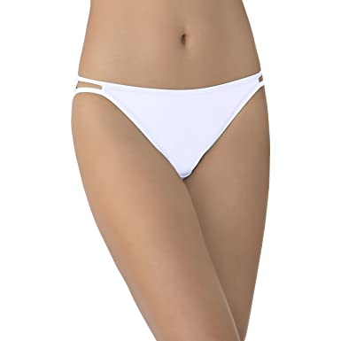 7a568d601874 Vanity Fair Women's Illumination String Bikini Panty 18108, Star White,  Small/5