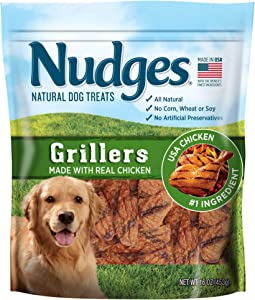 Nudges Chicken Grillers Dog Treats