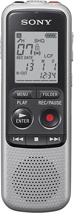 Sony ICD-BX140 Digital Mono HVXC//MP3 Voice Recorder with 4 GB Built-In Memory
