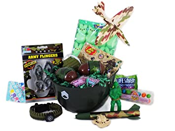 Amazon army military themed easter basket candy and toy gift army military themed easter basket candy and toy gift negle Gallery