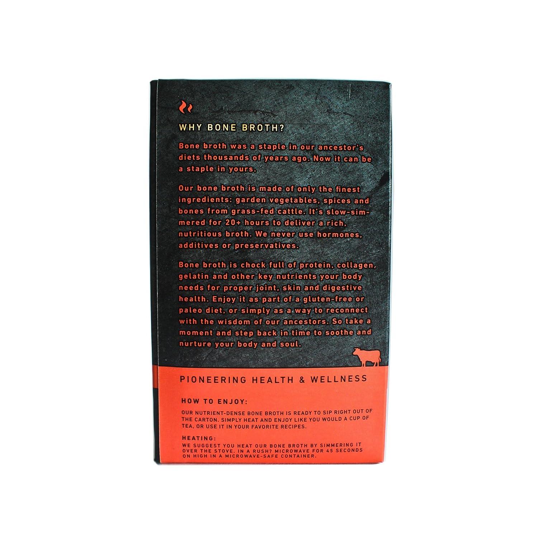 amazon com beef bone broth by kettle u0026 fire 100 grass fed