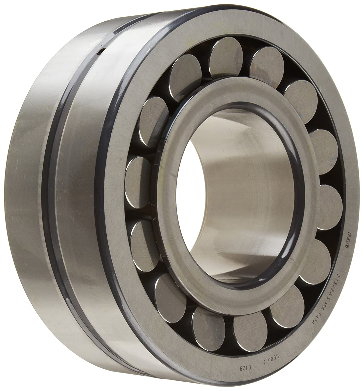 FAG 23322AS-MA-T41A Shaker Screen Spherical Roller Bearing, Brass Cage, C4  Clearance, Metric, 110mm ID, 240mm OD, 92.1mm Width, 2600rpm Maximum  Rotational ...