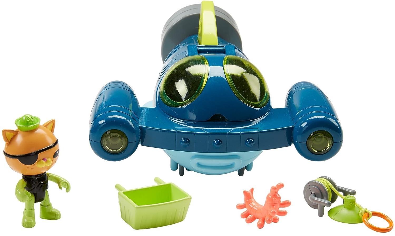 Amazon.com: Fisher-Price Octonauts Gup-Q Undersea Explorer: Toys & Games