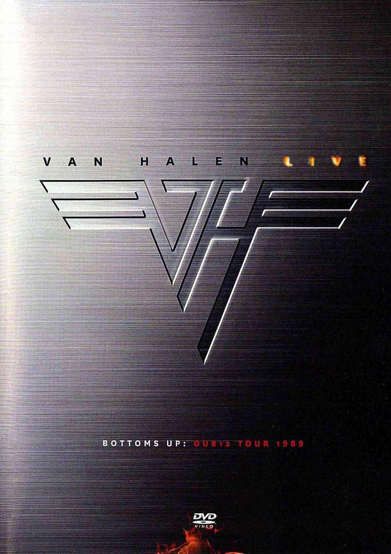 Amazon.com: Van Halen Live: Bottoms Up OU812 Tour 1989: Van Halen ...
