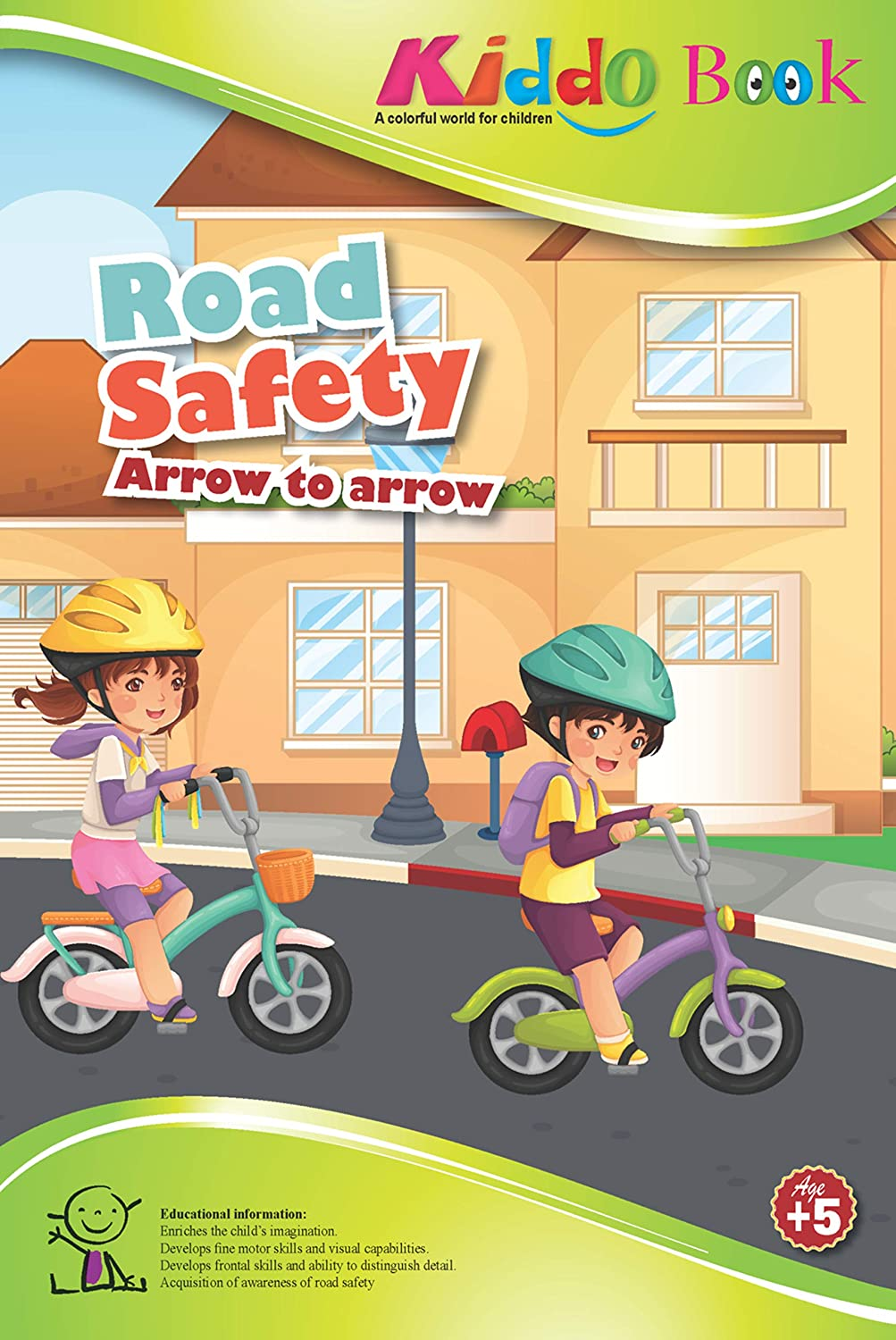 American Educational Products A-4020 Kiddo - Road Safety   B00URIKC6W