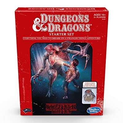Stranger Things Dungeons & Dragons Starter Set: Toys & Games