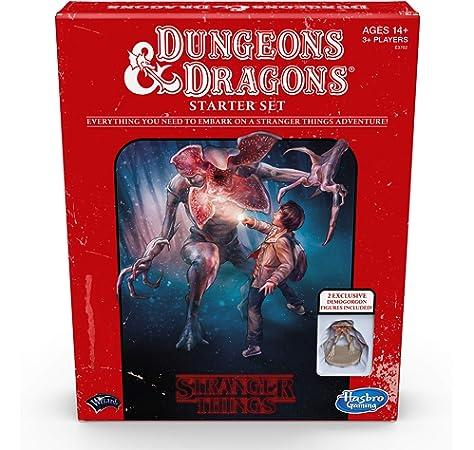Stranger Things Dungeons and Dragons (Hasbro 5010993642595): Amazon.es: Juguetes y juegos