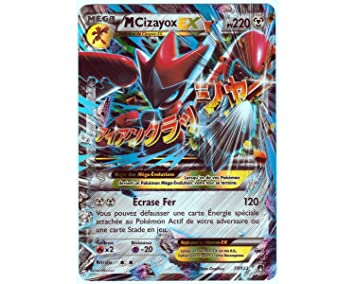 Pokémon 77/122 Cizayox Ex Holo 220 PV Serie XY Rupture Turbo XY9 - Carta