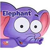 Elephant: Cutout Board Book