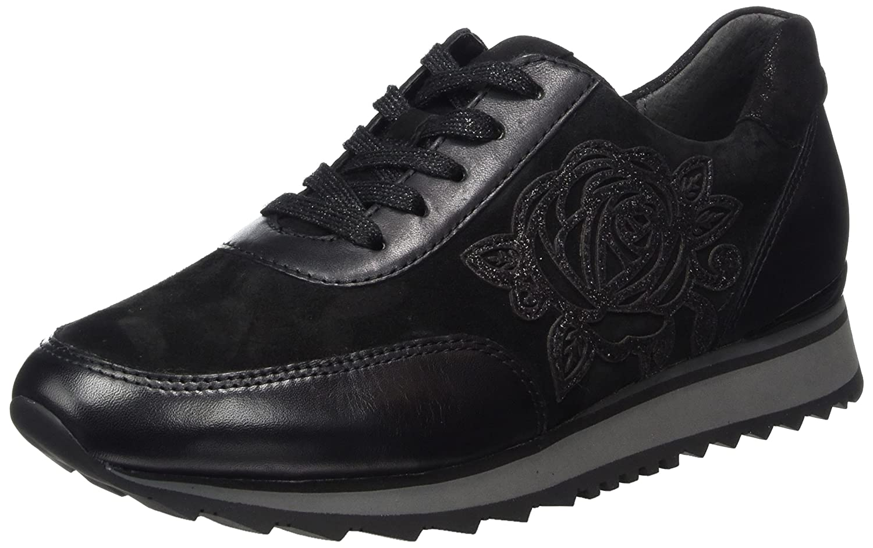 Gabor Shoes Gabor Casual, Zapatos de Cordones Derby para Mujer 40 EU Negro (27 Schwarz)