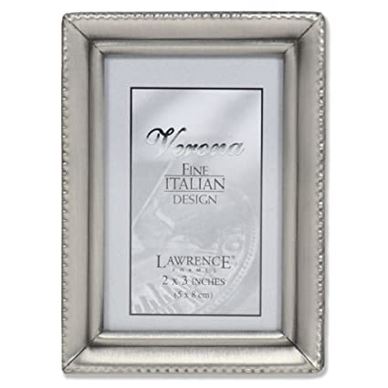 Amazon.com - Lawrence Frames Antique Pewter 2x3 Picture Frame ...