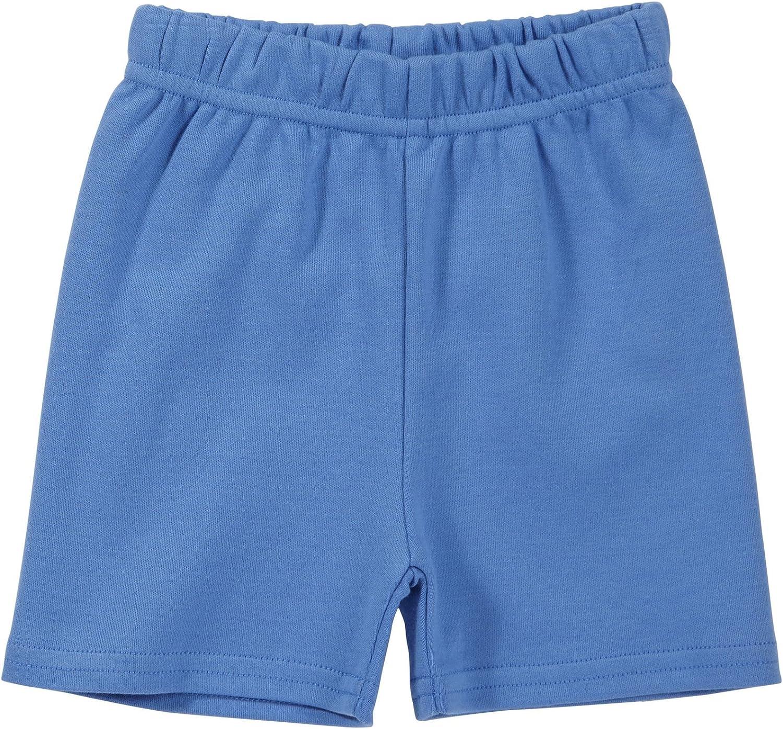 Zutano Unisex Baby Primary Solid Shorts Periwinkle Baby