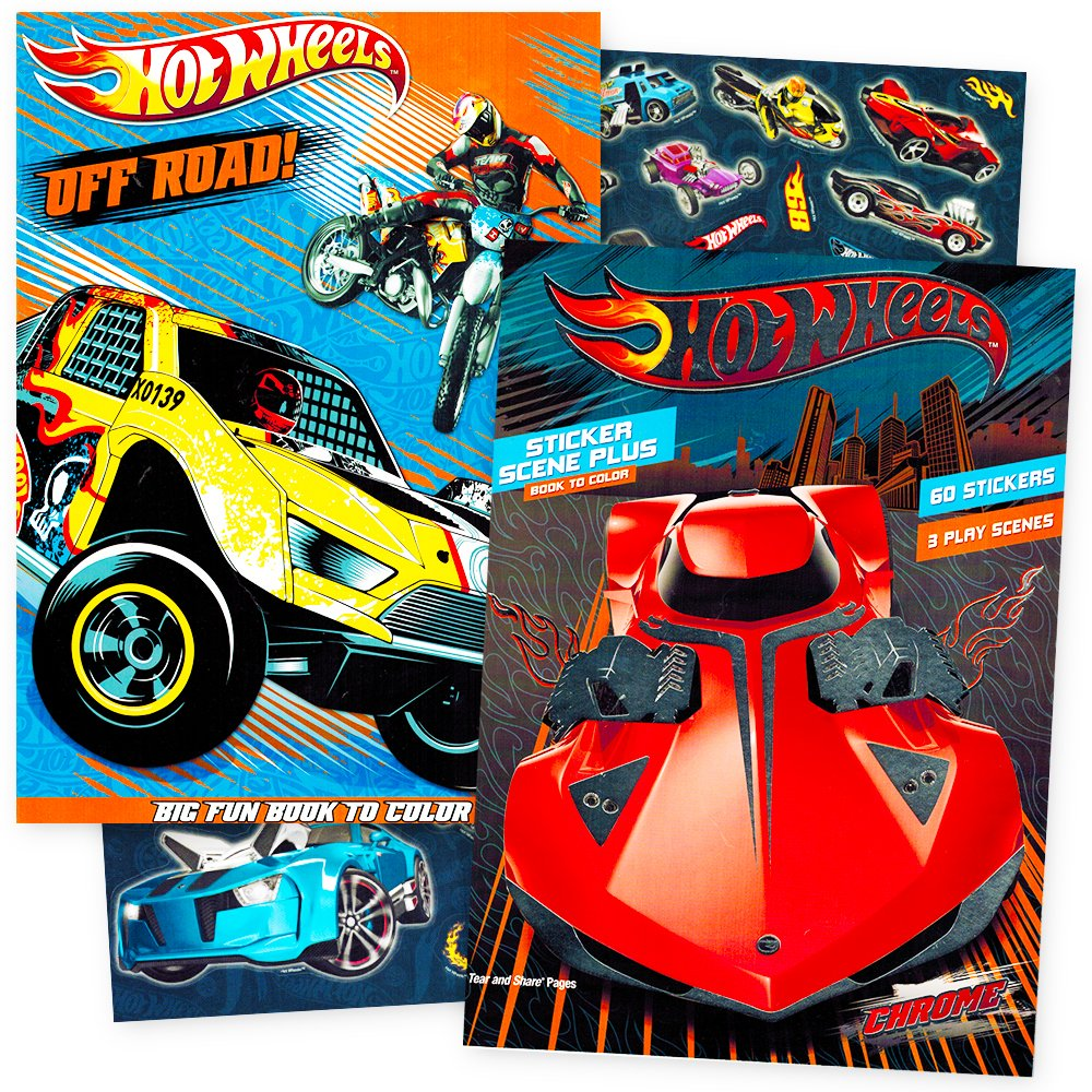 86+ Hot Wheels Coloring And Activity Book Free