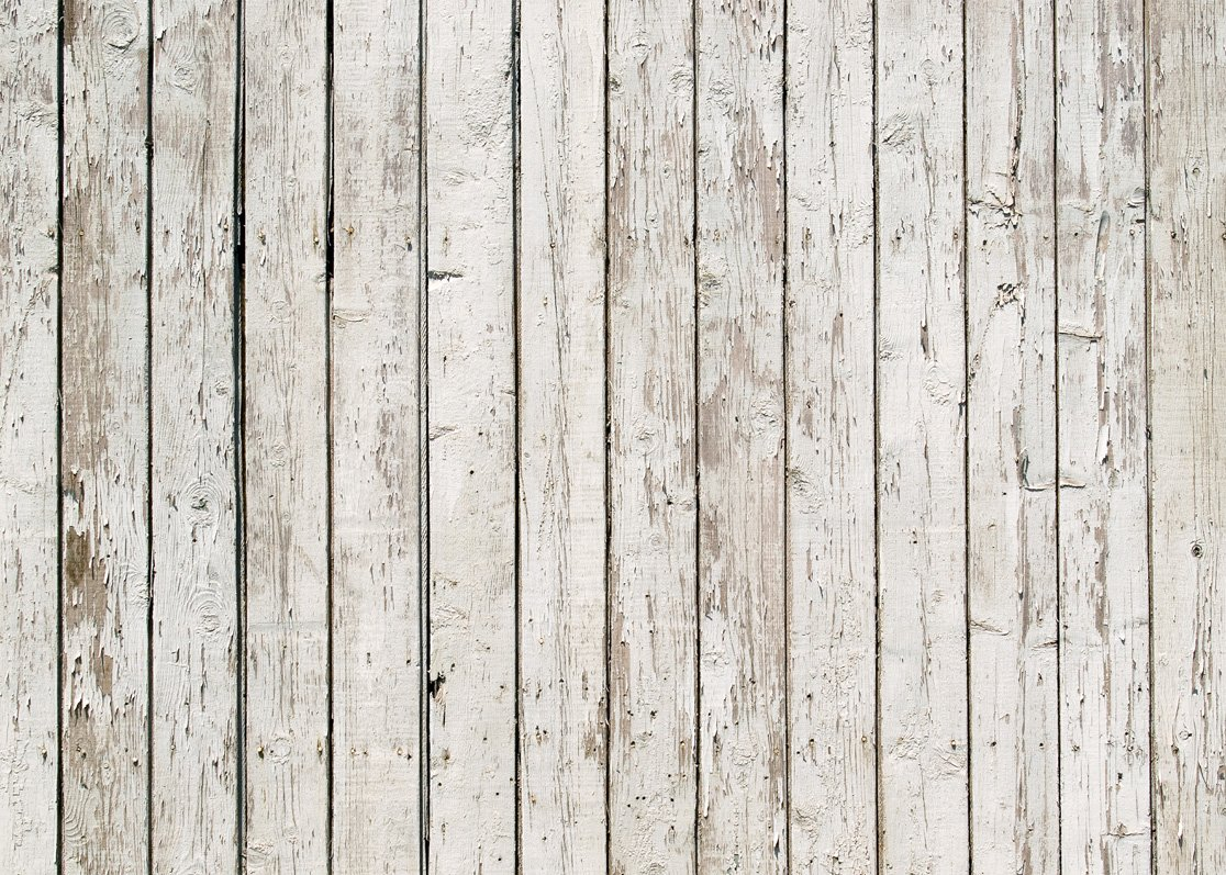 LYWYGG 7x5ft Photography Backdrop White Wood Backdrops Photography Wood Floor Wall Background Photographyers CP-21