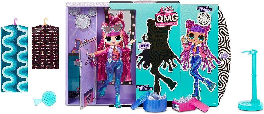 Amazon.es: L.O.L. Surprise! Muñecas de Moda Coleccionables para Niñas - con 20 Sorpresas y Accesorios - Roller Chick - O.M.G. Serie 3: Juguetes y juegos