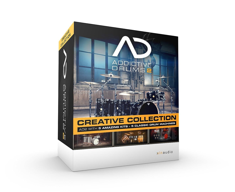 XLN Audio Addictive Drums 2 Creative Collection ソフトウェアドラム音源 スタンドアローン / VST / AU / AAX対応   B00W4PFN7E