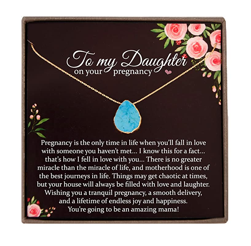 Daughters Pregnancy Necklace