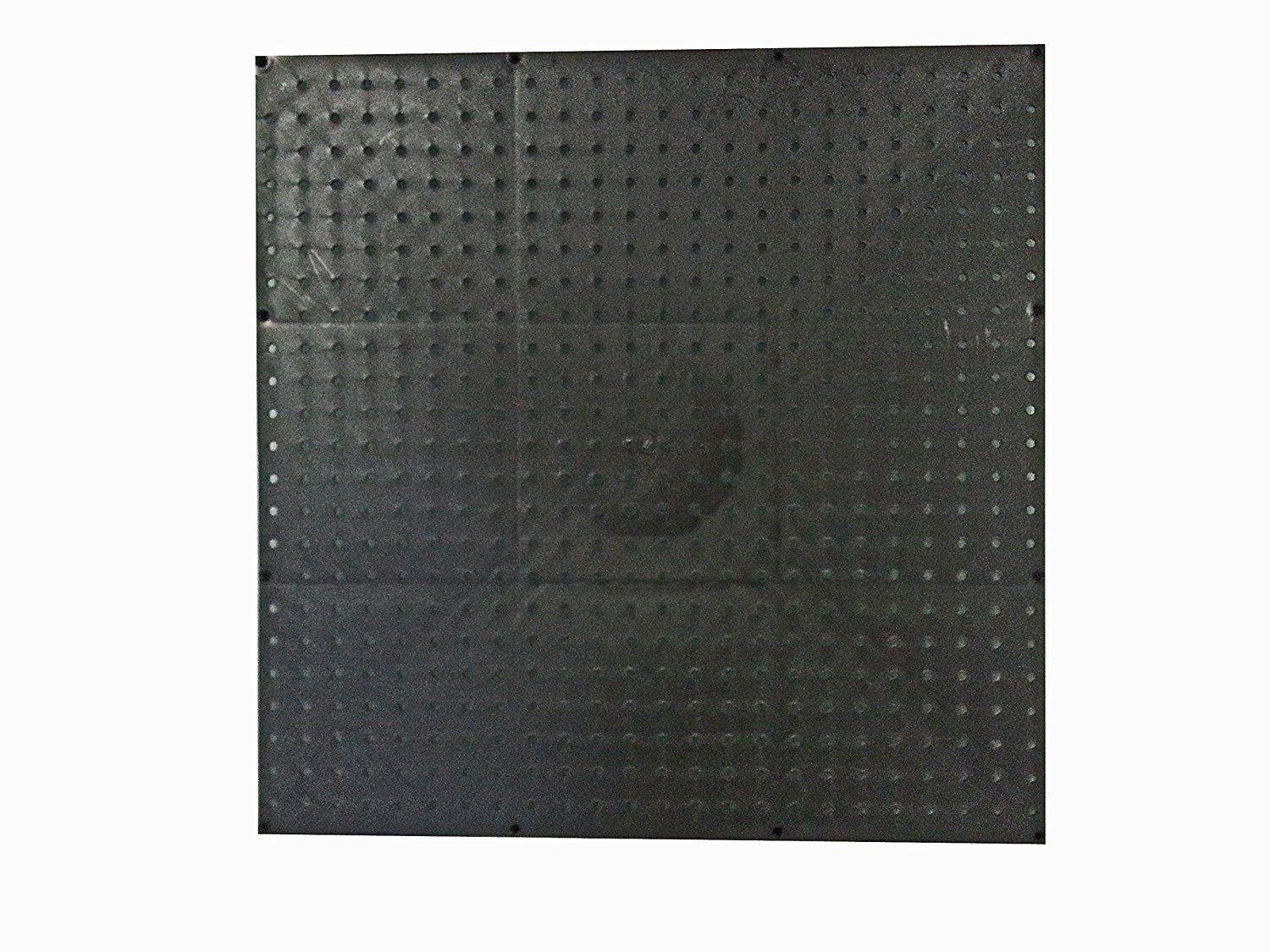 Black Poly Pegboard (24x24 in.)