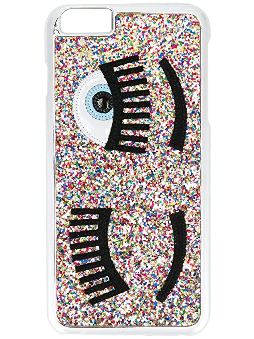 sports shoes 29db4 9910d Chiara Ferragni multicoloured Flirting glitter iPhone 6/6s case ...