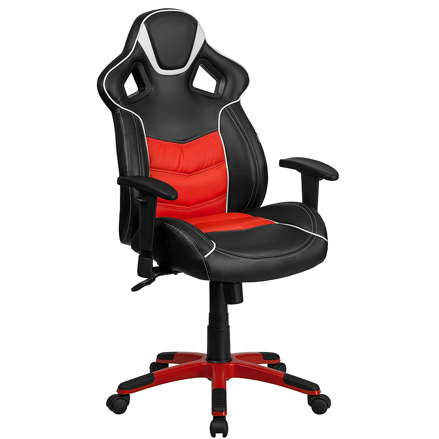 Amazon Flash Furniture High Back Rosso Corsa Red Executive