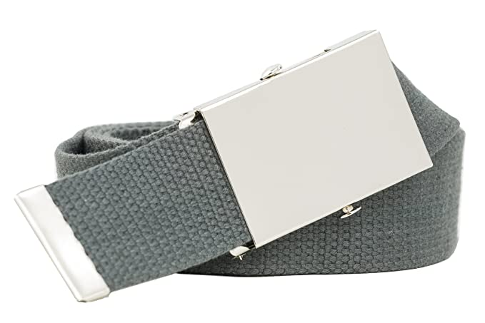 Cinturón de tela - Ancho de 4 cm - Talla grande XXL - 160 cm - Se puede acortar - Varios colores: Amazon.es: Ropa y accesorios