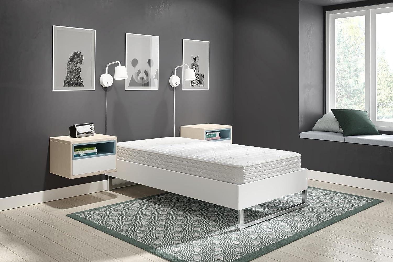 Signature Sleep Contour Encased Mattress, Twin, White