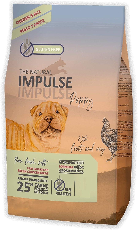 IMPULSE Pienso para Perros Natural Dog Puppy Chicken 12 Kg