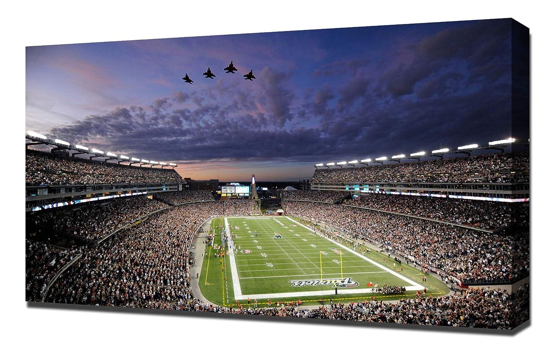Lilarama USA New England Patriots Gillette Stadium - Canvas Art Print - Wall Art - Canvas Wrap