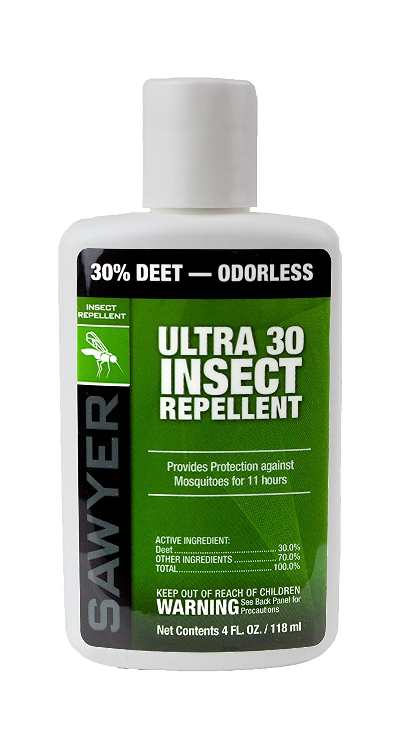 Sawyer Products Premium Ultra 30% DEET Insect Repellent in Liposome Base Lotion